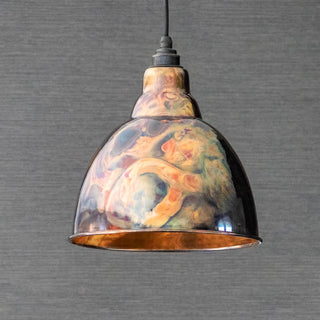 Image: Burnished Brindley Pendant Ceiling Light Fitting