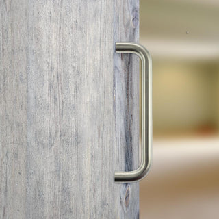 Image: CleanTouch D Pull handle with Anti-Bacterial Coating - Satin Stainless Steel