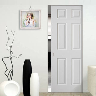 Image: Colonist Absolute Evokit Pocket Door - White Primed
