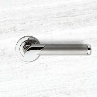 Image: Serozzetta Irwin ZIN3139PC/SC Lever Latch Handles with Dual Chrome Finish