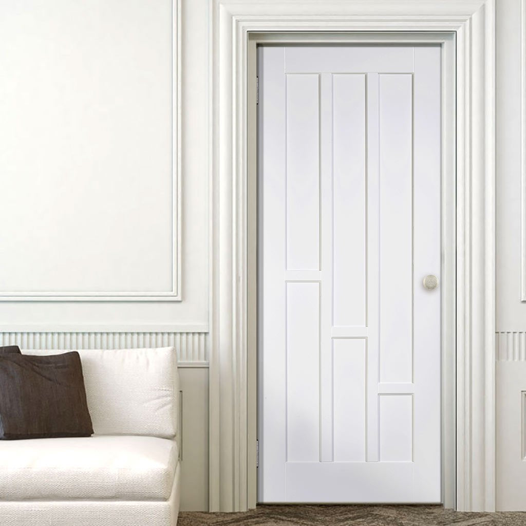 Coventry Style White Primed Panel Door