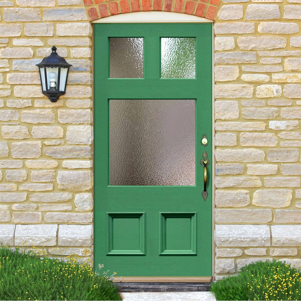 External Victorian Made to Measure Darwin Door - Fit Your Own Glass - 3 Pane