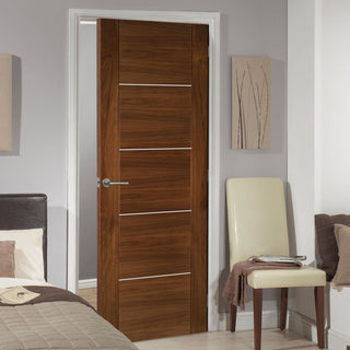 Image: Valencia Prefinished Walnut Door