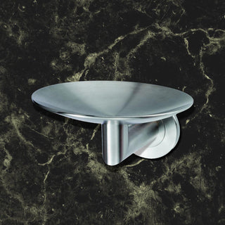 Image: Deleau LX Curved Soap Dish G316