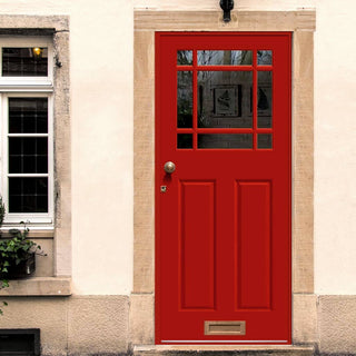 Image: Made to Measure Exterior Devon Door - Fit your Own Glass