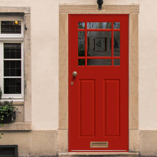 Image: Made to Measure Exterior Devon Door - Double Glazing
