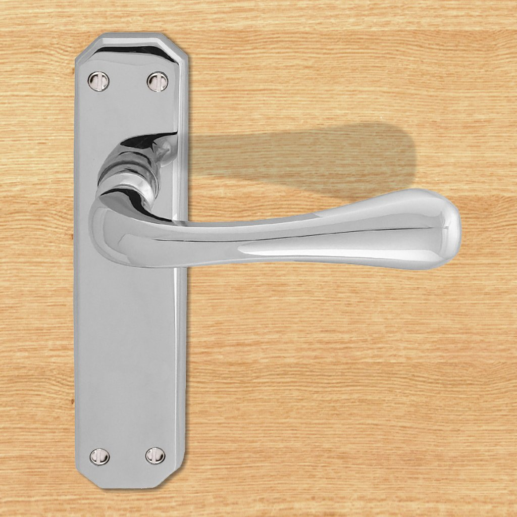 DL411 Eden Lever Latch Handles - 2 Finishes