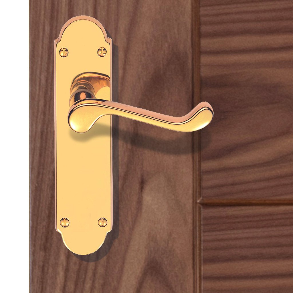 DL167 Oakley Lever Latch Handles - 3 Finishes
