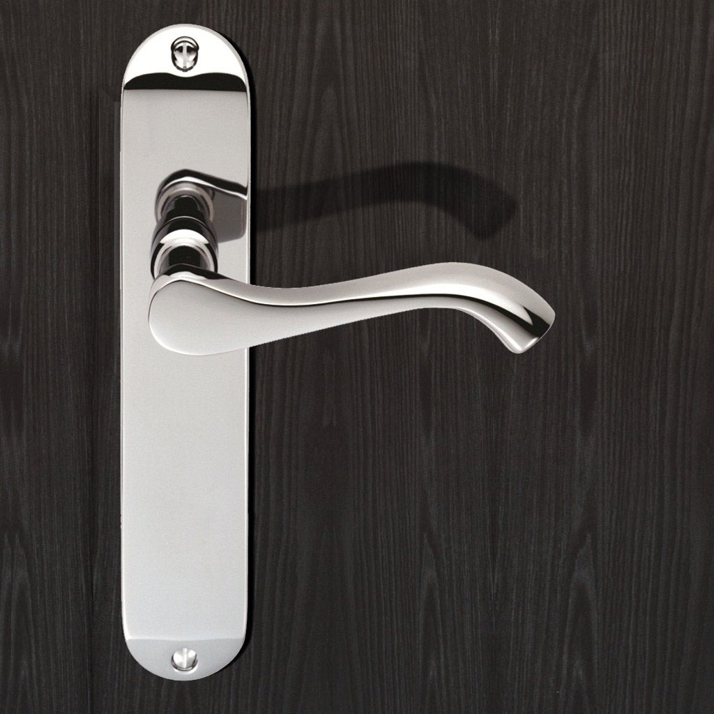 Polished Brass: DL181 Andros Lever Latch Handles