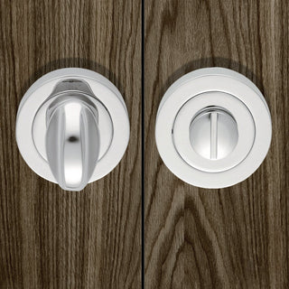 Image: European AQ12 Bathroom Turn & Release - 3 Finishes
