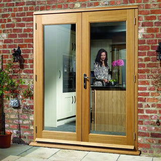 Image: Made to Order Exterior Pattern 20 Style Door Pair - Double Glazing