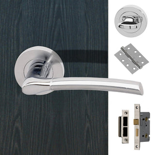 Image: Drava Bathroom Handle Pack