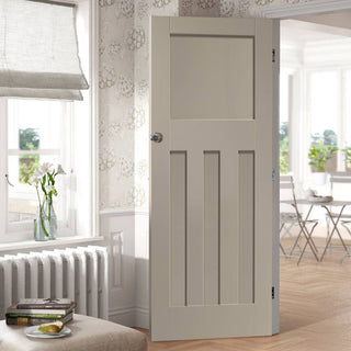 Image: Designer painted interior door available in five colour options