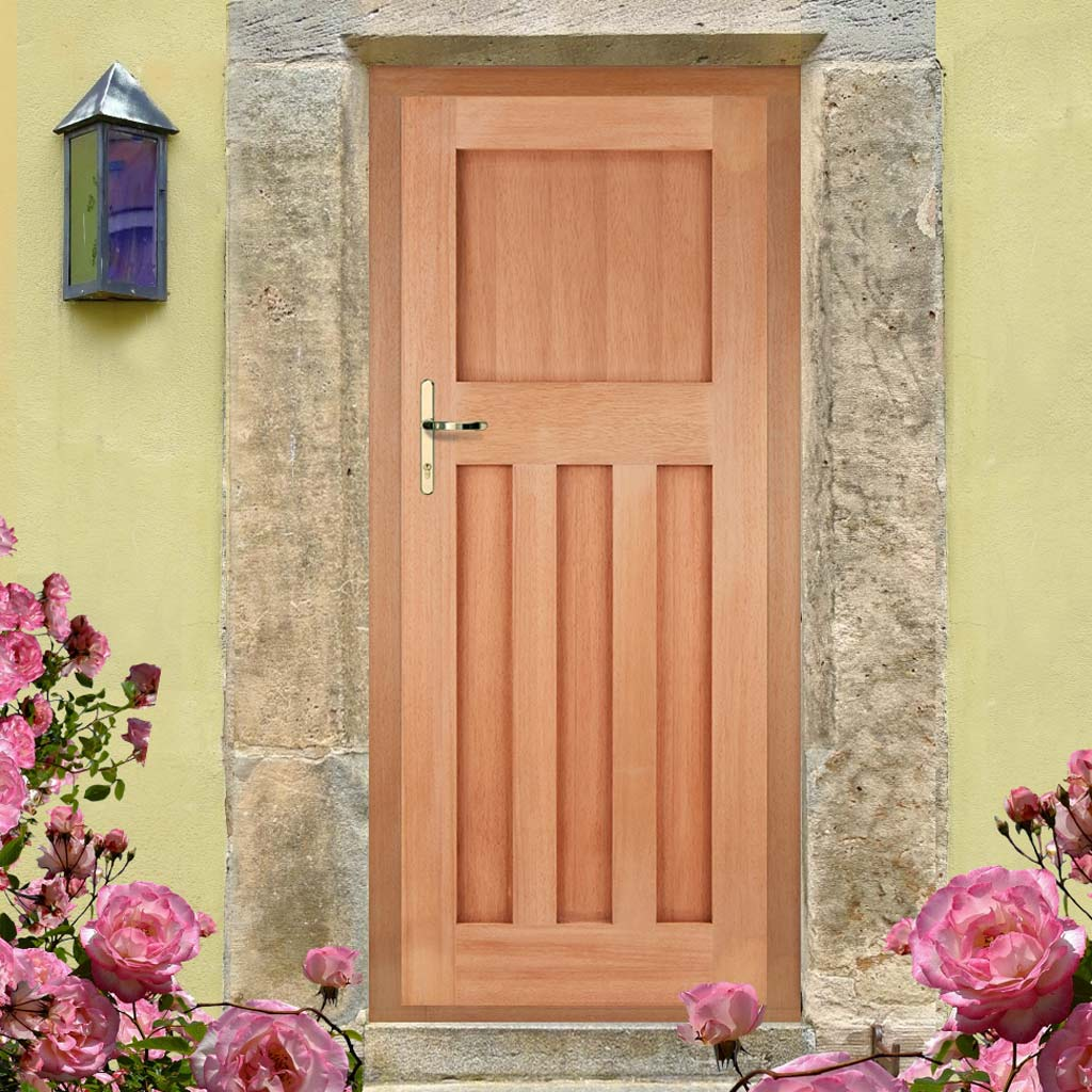 DX30's Style External Hardwood Door and Frame Set, From LPD Joinery