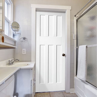Image: DX60's Style White Primed Panel Door
