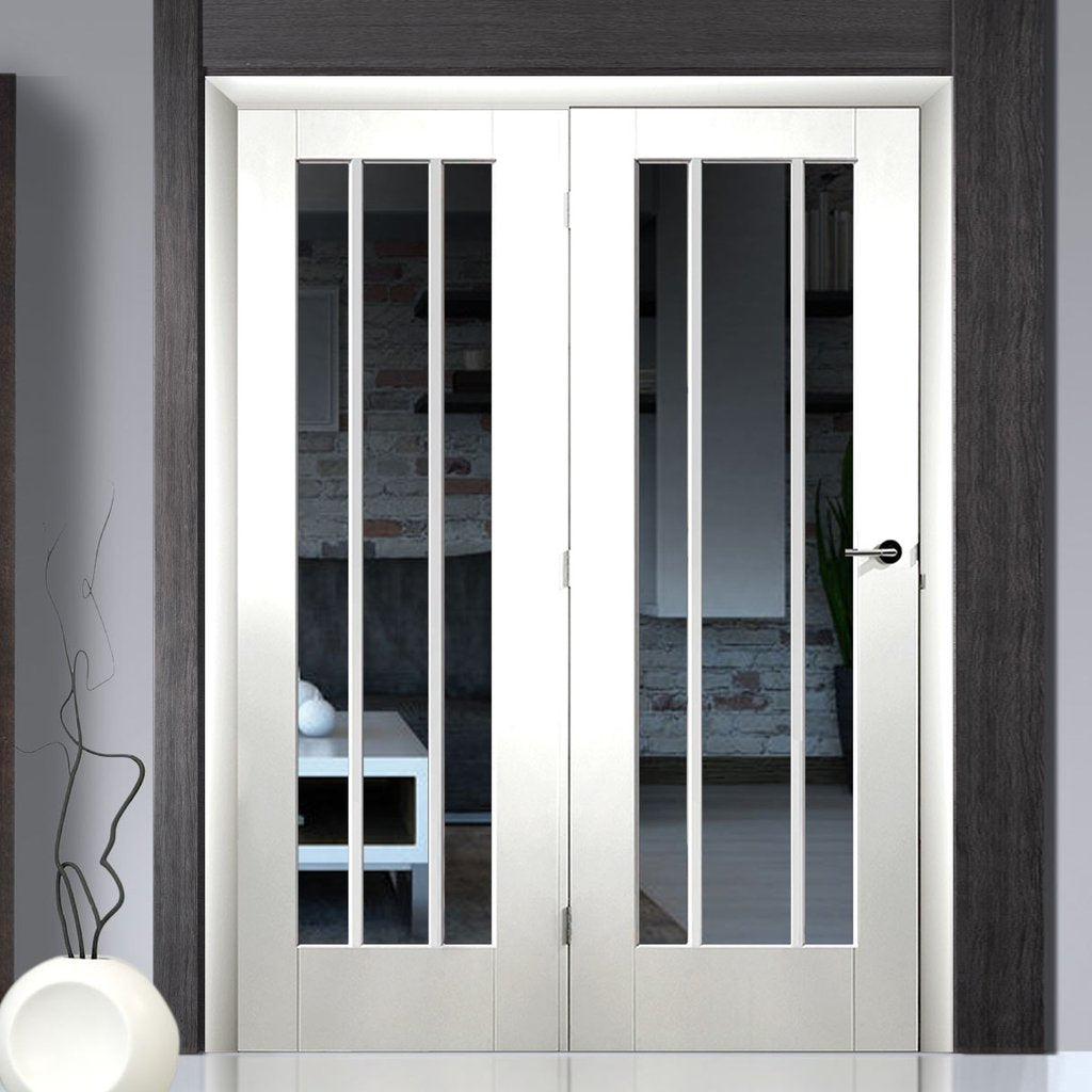 Easi-Frame White Door Set - GWPWOR-COEOP37L - 2005mm Height - 1508mm Wide.