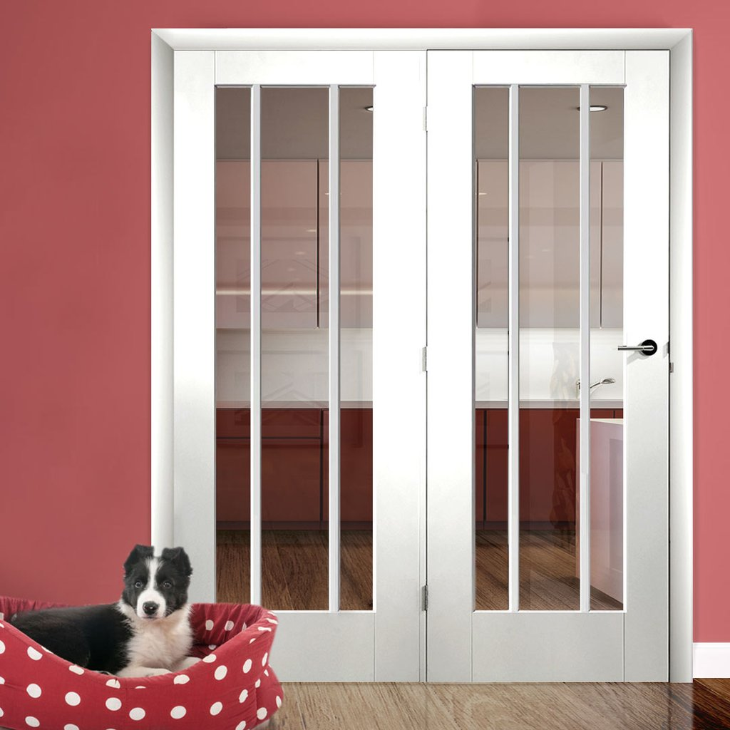 Easi-Frame White Door Set - GWPWOR-COEOP35L - 2005mm Height - 1660mm Wide.