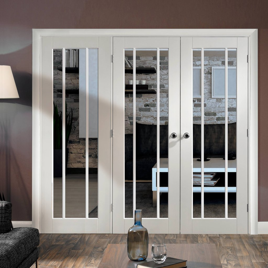 Easi-Frame White Door Set - GWPWOR-COEOP16L - 2005mm Height - 2118mm Wide.