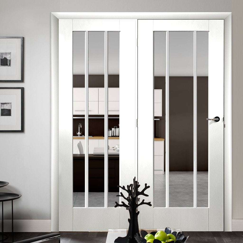 Easi-Frame White Door Set - GWPWOR-COEOP38L - 2005mm Height - 1584mm Wide.