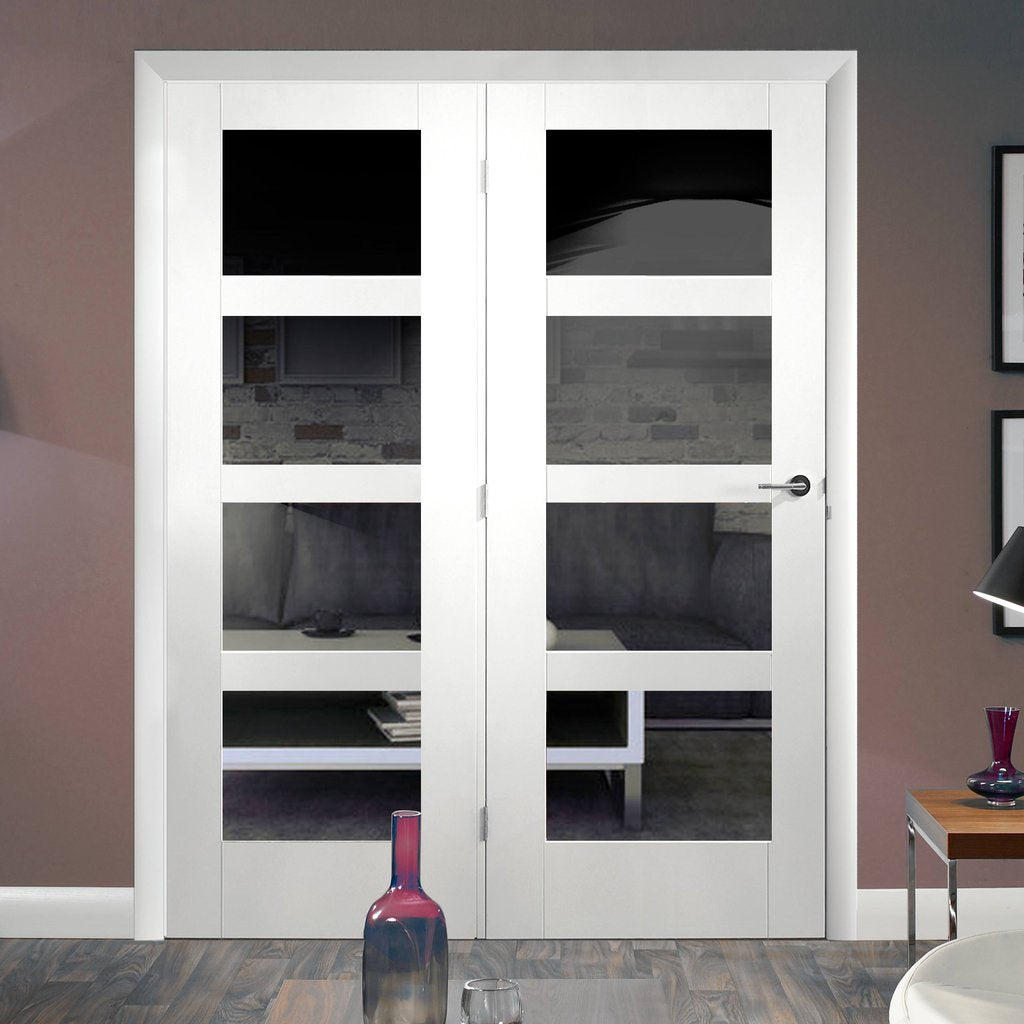 Easi-Frame White Door Set - GWPSHA4L-COEOP38L - 2005mm Height - 1584mm Wide.