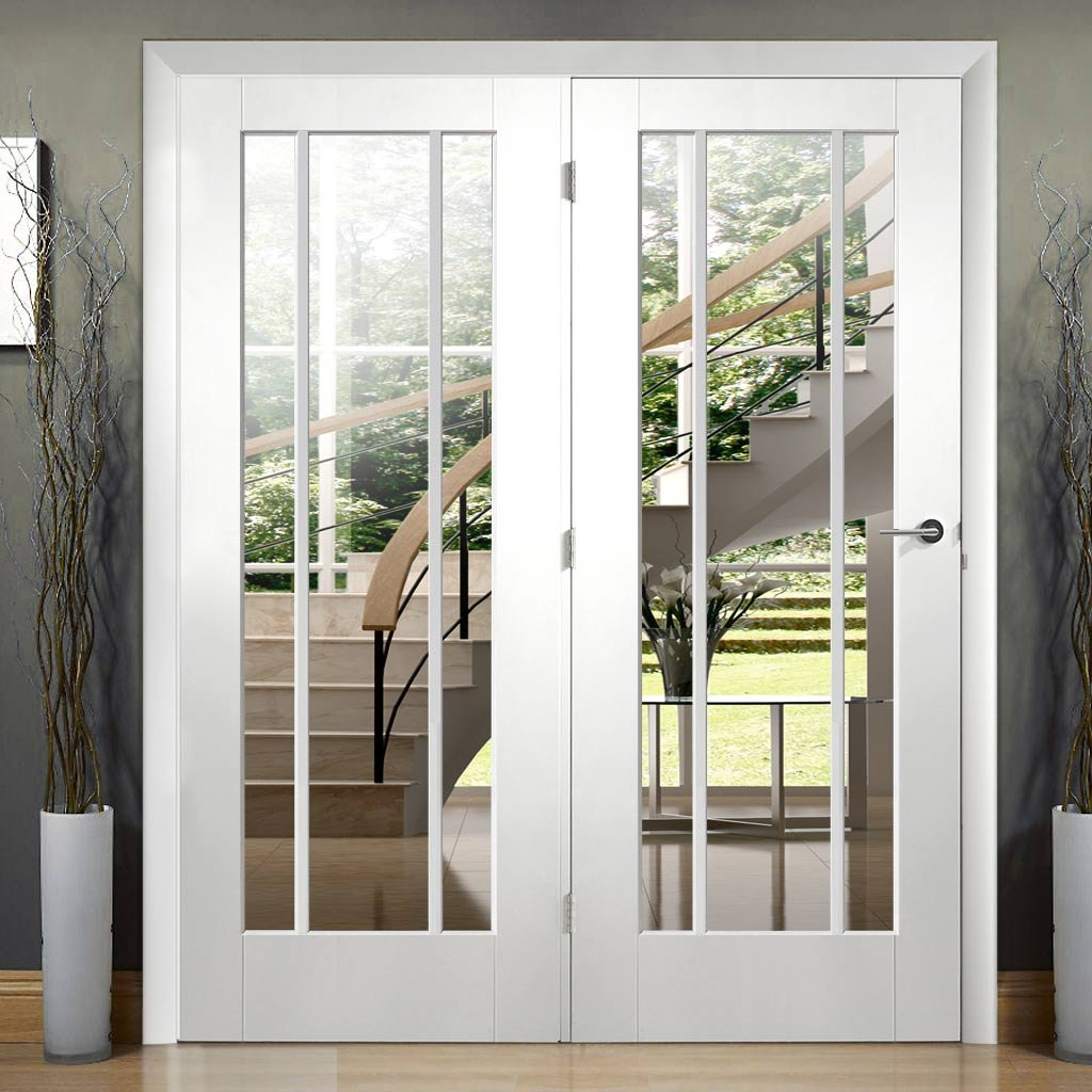 Easi-Frame White Primed Door Set - GWPWOR-COEOP32L - 2005mm Height - 1432mm Wide.