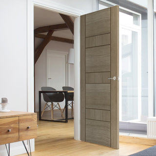 Image: Edmonton Light Grey Door - Prefinished