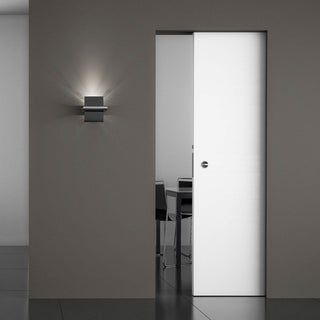 Image: Ermetika Absolute Evokit - Frameless Pocket System Cassette for Single Doors