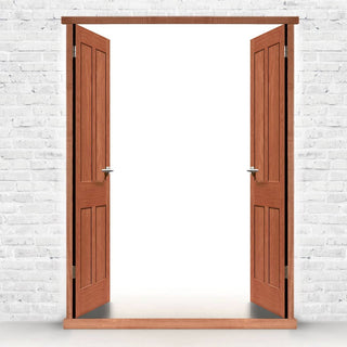 Image: Exterior Double Door Frame, Type 1 for Double Doors, Made to size, with or without threshold or cill.