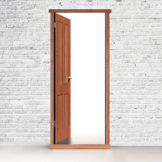 Image: Exterior LPD Hardwood Door Frames for Single Doors - Standard Sizes