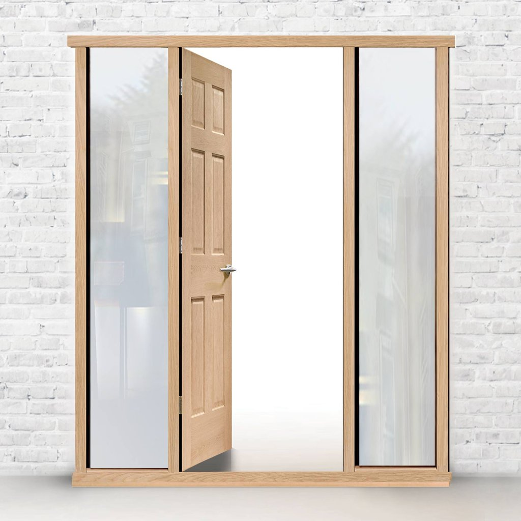 Exterior Frame Type 3 Model 1 Complete Door Set