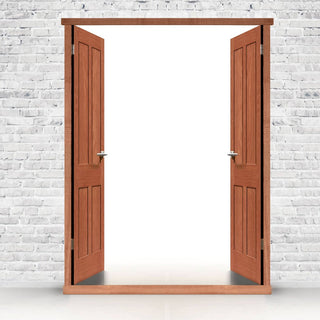 Image: Exterior LPD Hardwood Door Frames for Double Doors