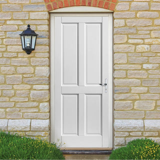 Image: JBK Colonial Extreme Weather White Door