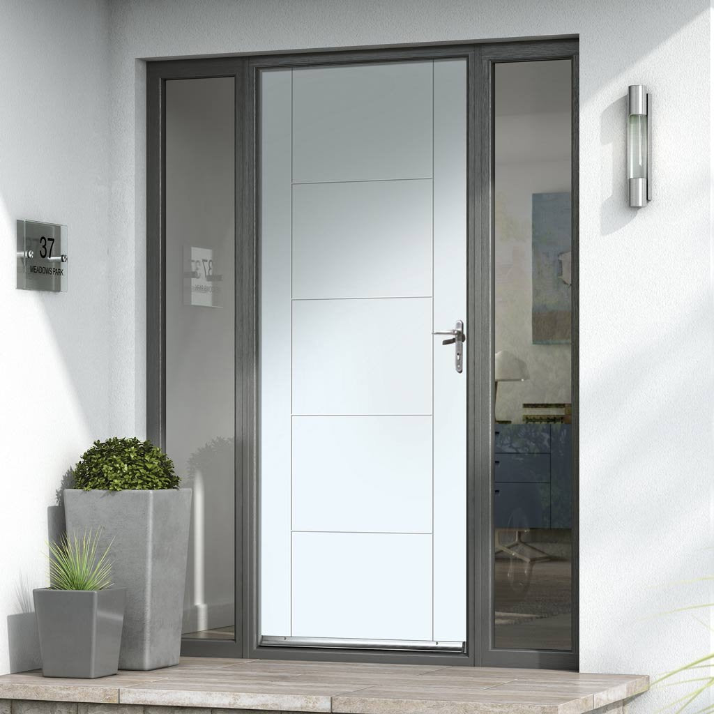 JBK Tigris Extreme Weather White Door