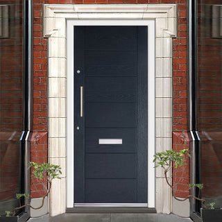 Image: GRP Grey Modica Composite Door