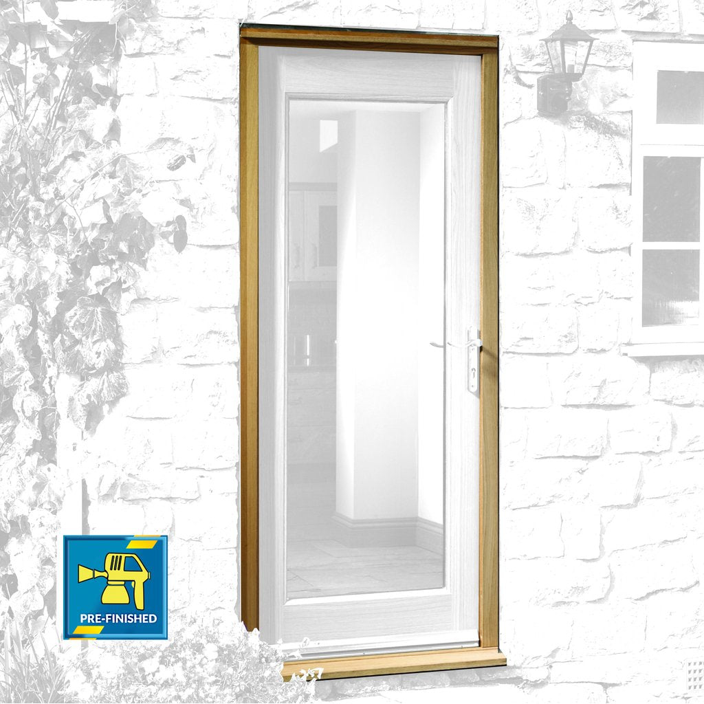 Exterior Xl Joinery Door Frame - Prefinished Oak Veneered