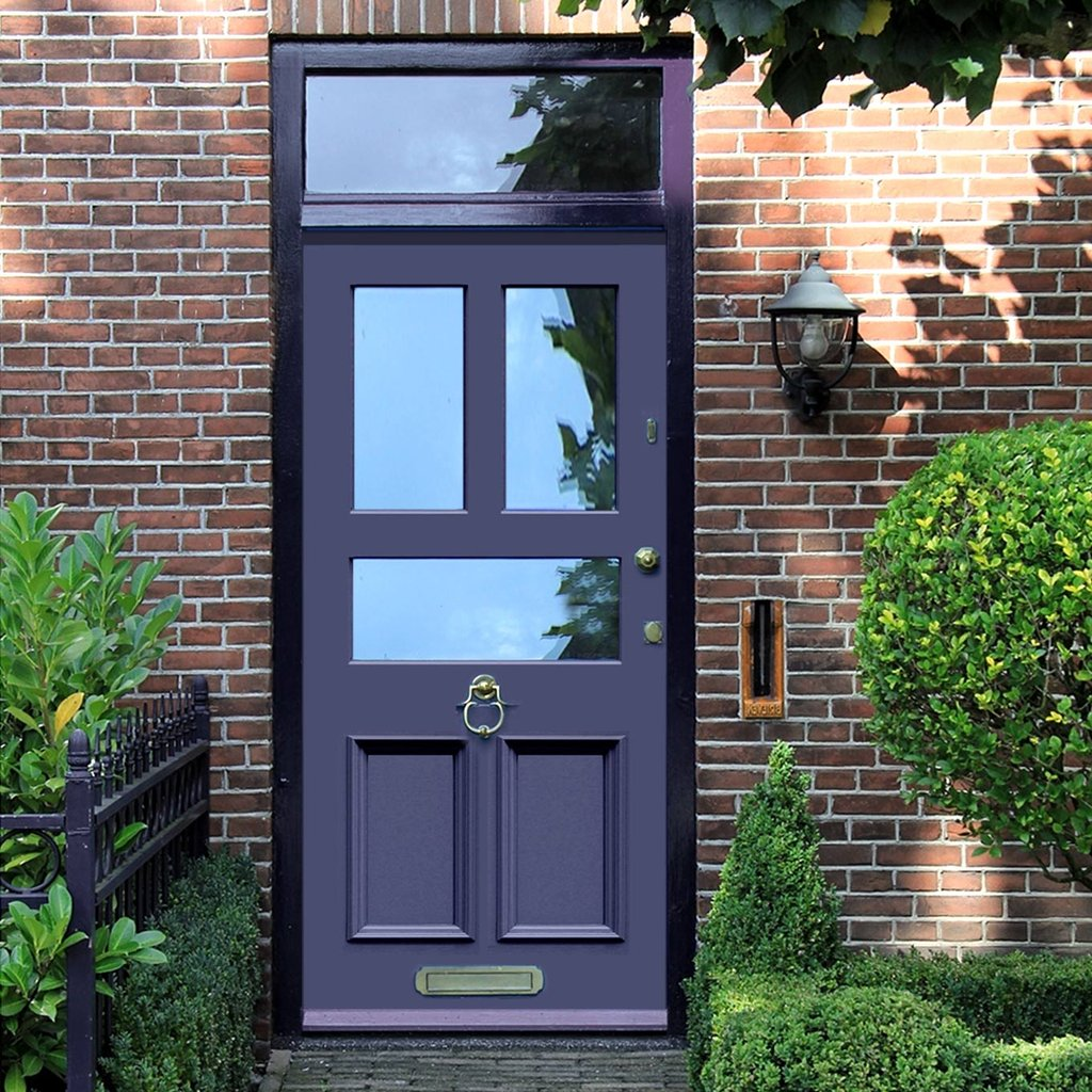 Exterior Victorian Faraday Made to Measure Door - Fit Your Own Glass - 3 Pane