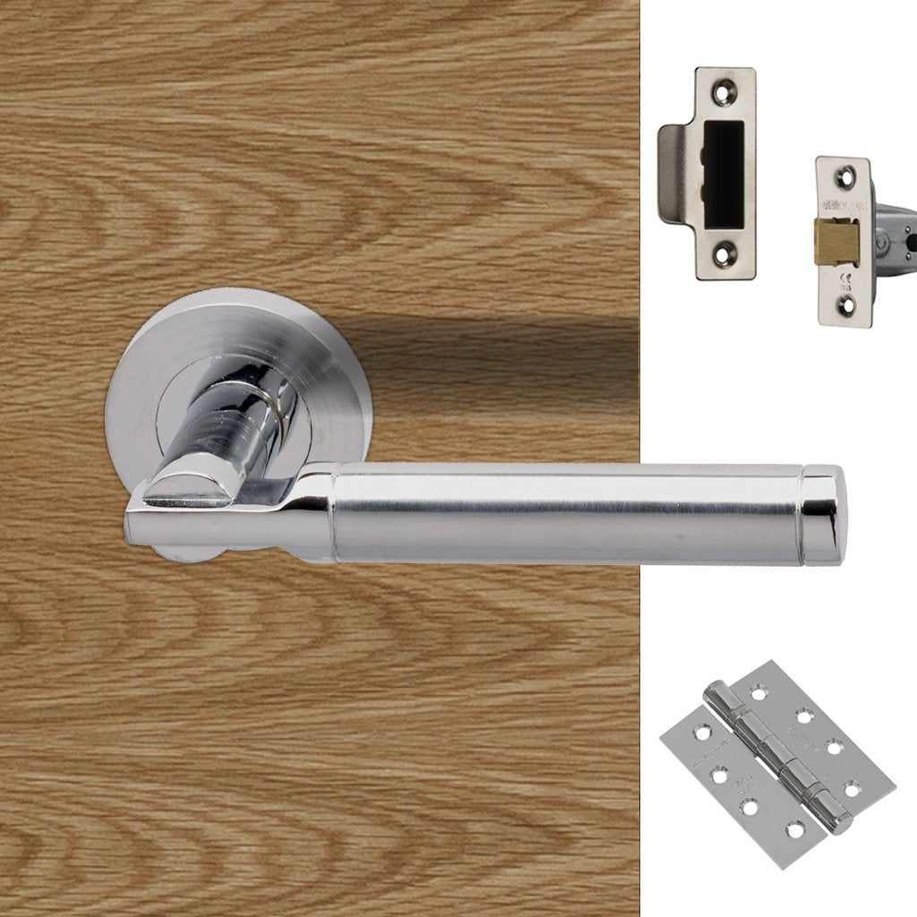 Tiber Fire Door Handle Pack