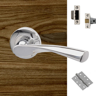 Image: Rhine Fire Door Handle Pack