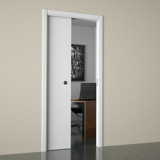 Image: Ermetika Evokit Fire Pocket System Cassette for Single Pocket Door