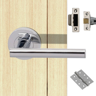 Image: Loire Fire Door Handle Pack