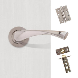 Image: Fortuna Premium Handle Pack - Satin Chrome