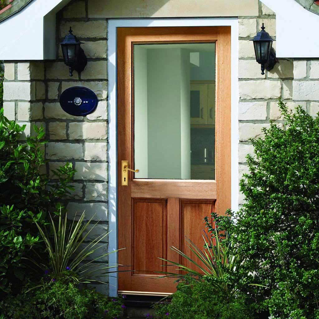 2XG Exterior Hardwood Door - Toughened Double Glazing