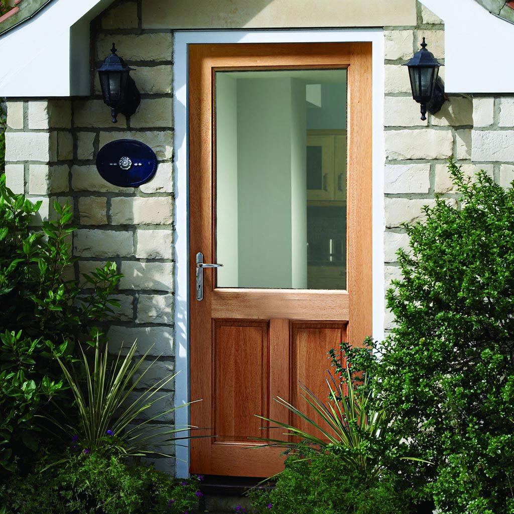 2XG Exterior Hardwood Door - Fit Your Own Glass