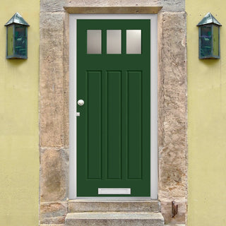 Image: Made to Measure Exterior Ayrshire Door - Fit Your Own Glass