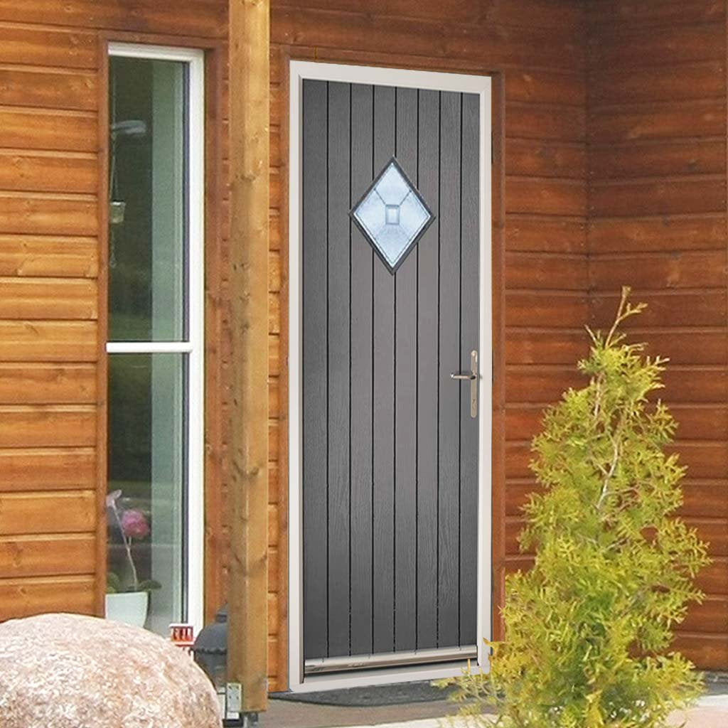 Hereford Composite Door - Decorative Glass