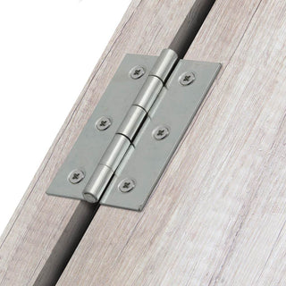 Image: 76mm Narrow Pattern Loose Pin Butt Hinge 183876 - 3 Finishes