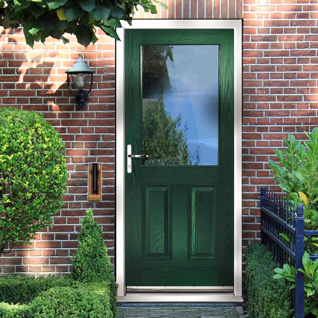 2XG Composite Door - Clear Glass