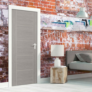 Image: J B Kind Laminates Lava Painted Fire Door - 1/2 Hour Fire Rated - Prefinished