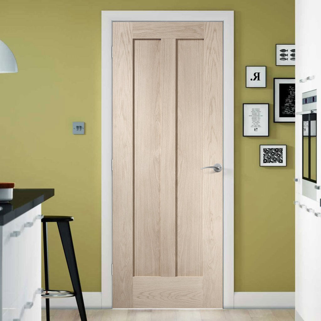 prefinished bespoke novara oak door