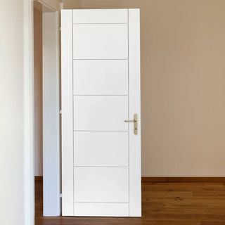 Image: Limelight Apollo White Primed Flush Door - 1/2 Hour Fire Rated